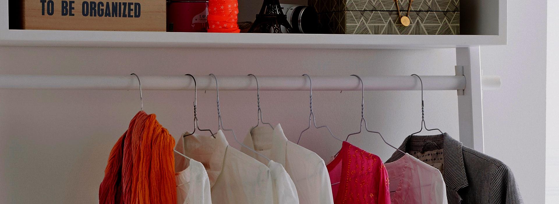 Creatief met kledingkasten: 7 oplossingen