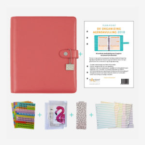 plan-point plannerpakket deluxea5 coral