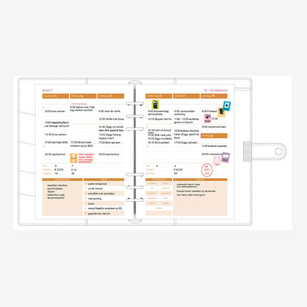 organizing agendavulling 2018-4