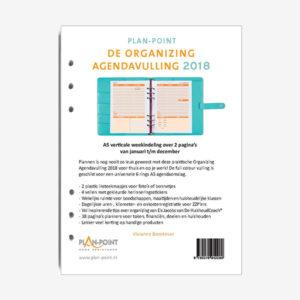 De Organizing agendavulling 2018 A5