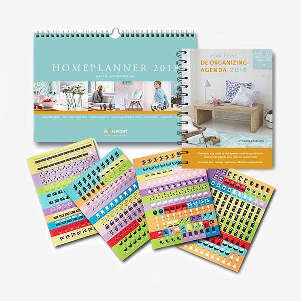 Voordeelpakket-1 Homeplanner Organizing agenda en 480 stickers