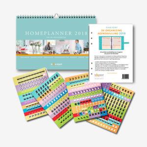 Voordeelpakket 2 - Homeplanner, Organizing AgendaVulling en 480 stickers
