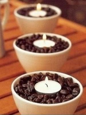 Vanille-koffiekaarsje