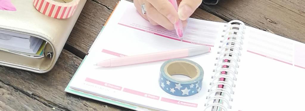 Zo haal je het beste uit je Organizing Agenda of Homeplanner