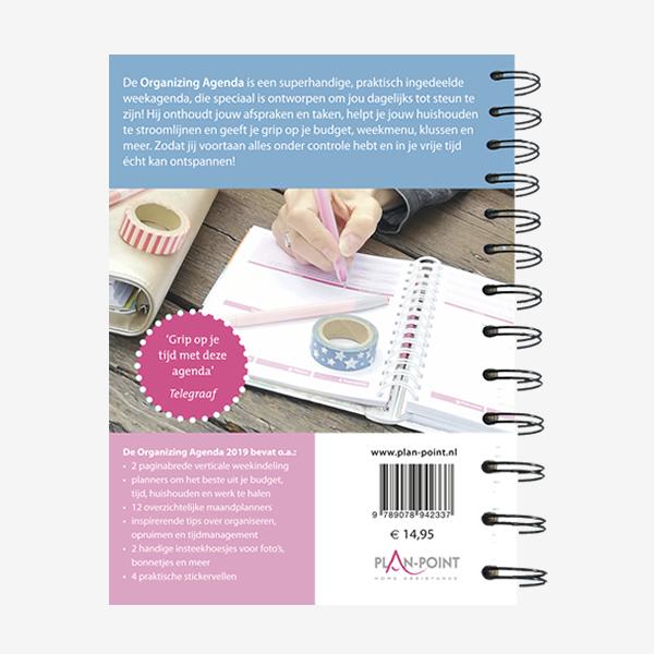 Citaten Noteren : De organizing agenda voor thuis en op je werk plan