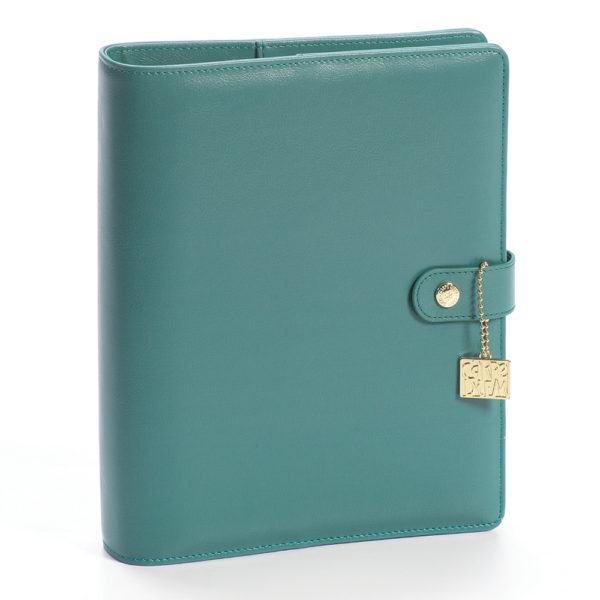 Teal A5 Planner Cover – Carpe Diem