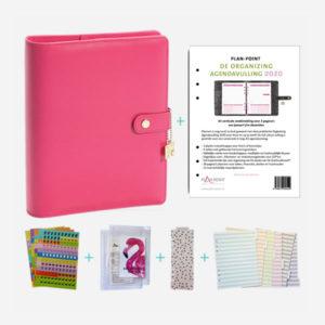 plannerpakketdelux a5 pink