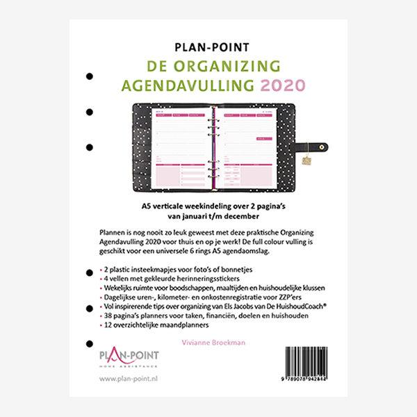 De organizing agendavulling 2020
