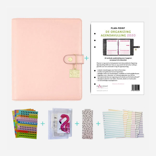 Plannerpakket Deluxe A5 bluch