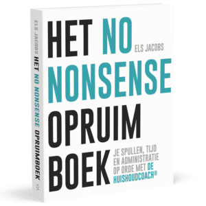 No Nonsense opruimboek 3d - Els jacobs