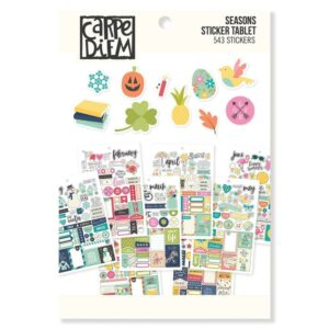 Seasons Sticker Tablet