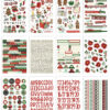 Jingle All the Way Sticker Book (432 stickers) - Simple Stories 1
