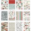 Winter Cottage Sticker Book (682 stickers) - Simple Stories